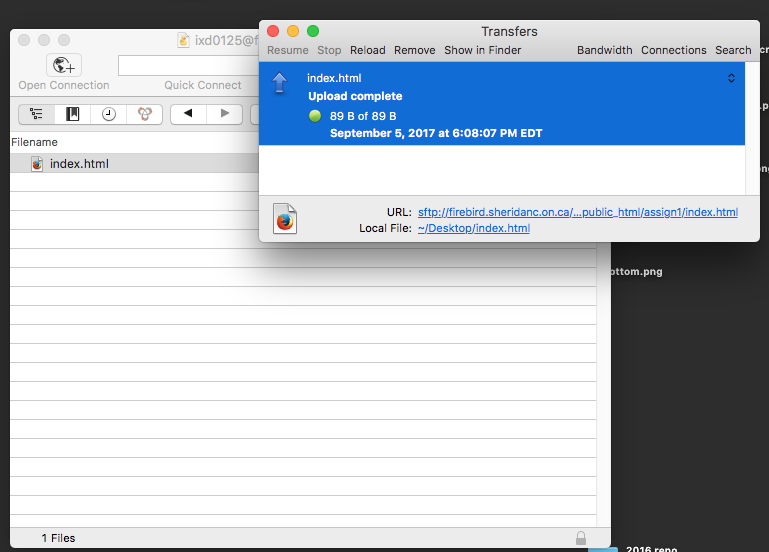 The Mac Techs @ Sheridan :: Guide: First time login to Firebird