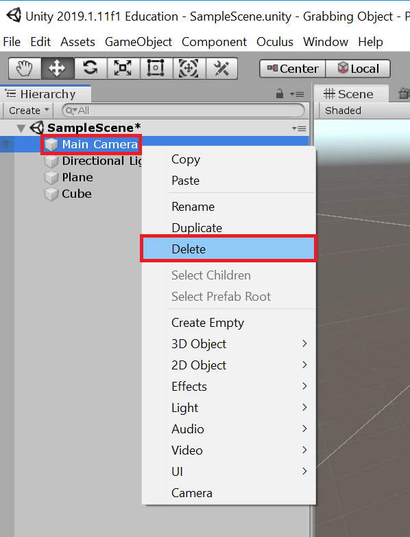 Unity Snap To Object